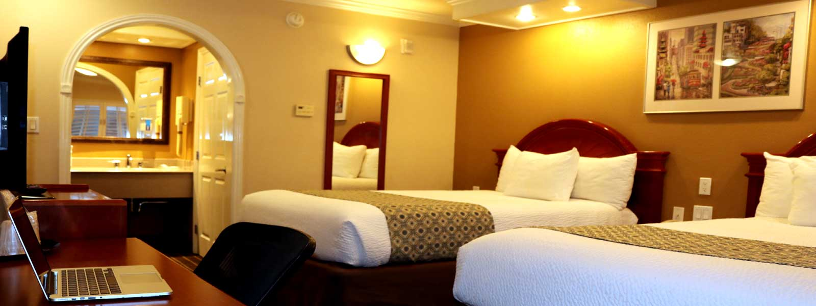 Motels in San Francisco Budget Discount 3 Star Rating